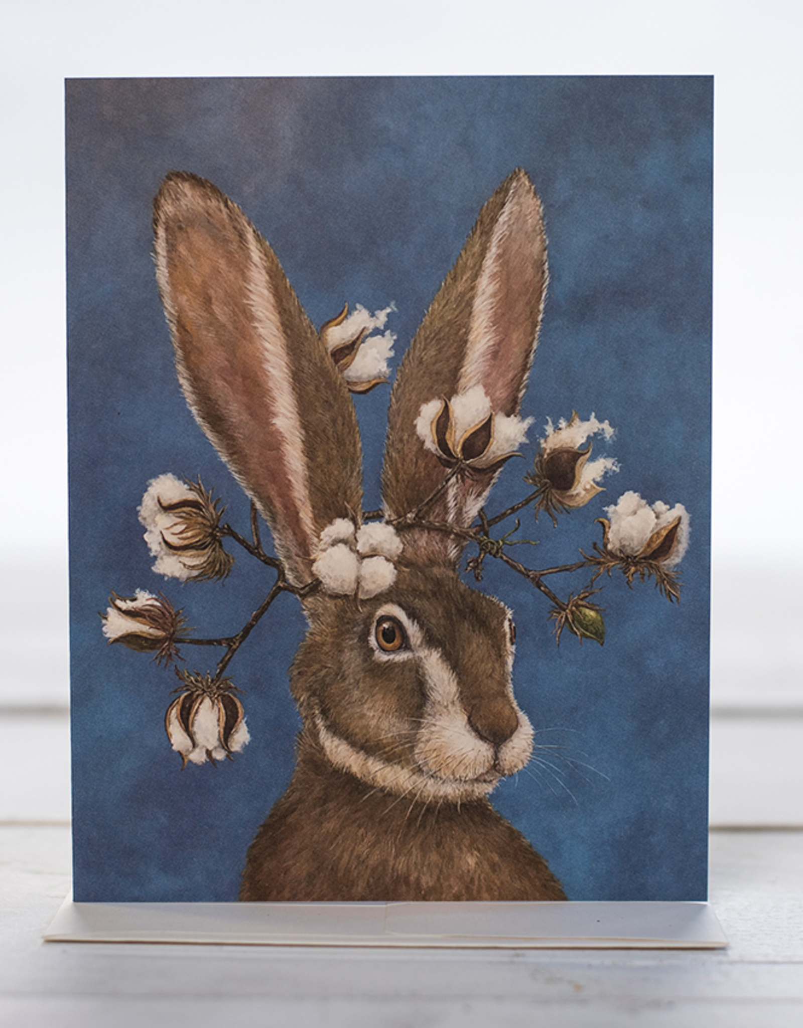 New Card - Bunny With Cotton