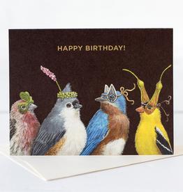New Card - Birthday Bird Party
