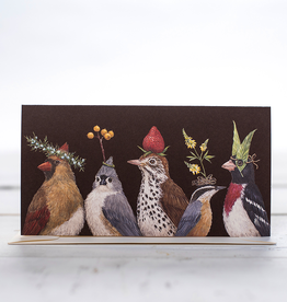 New Card - Party At The Feeder