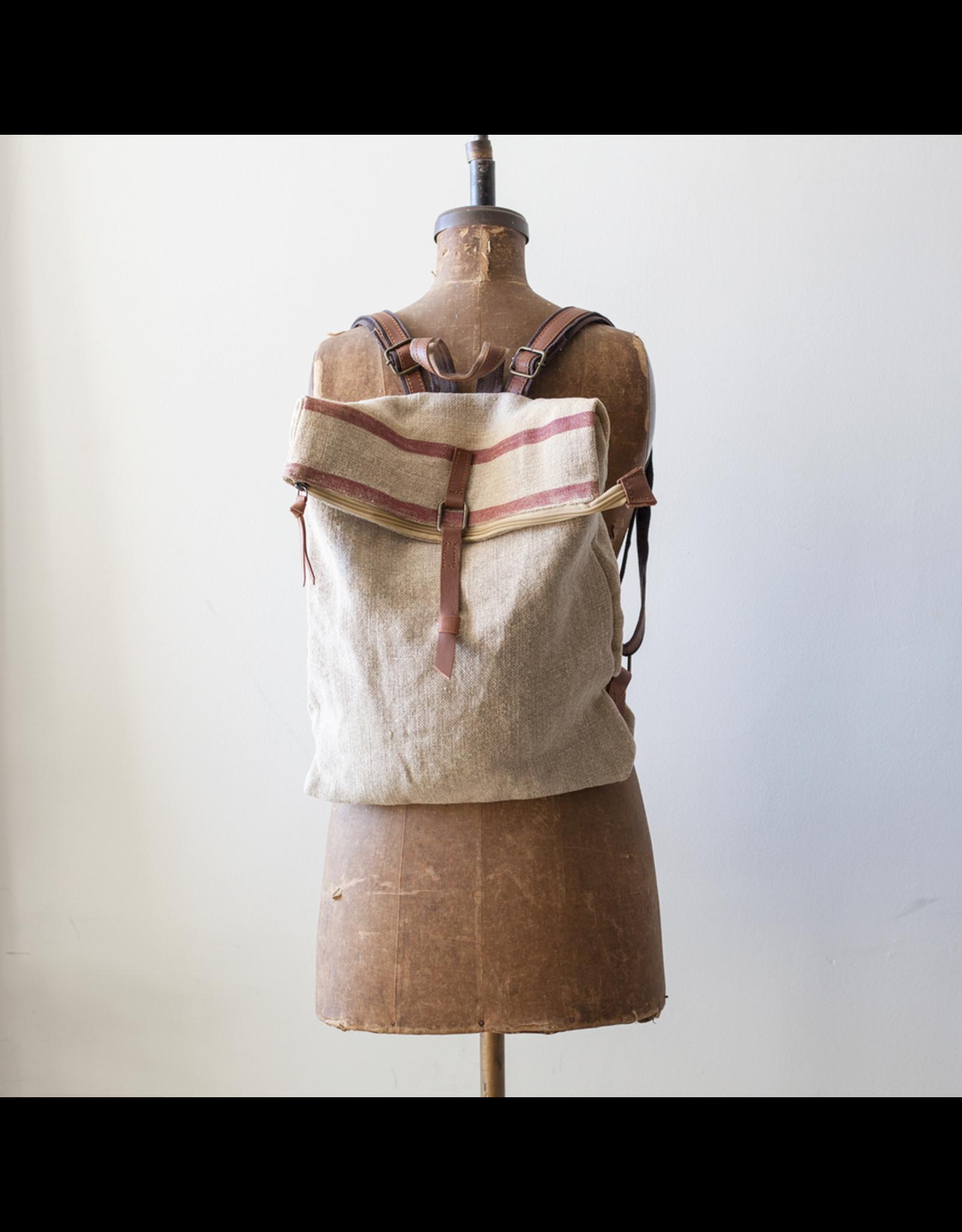 Handmade Jute Back Pack