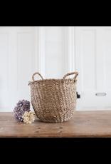 Round Seagrass Storage Basket