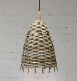 New Rustic Rattan Pendant Light
