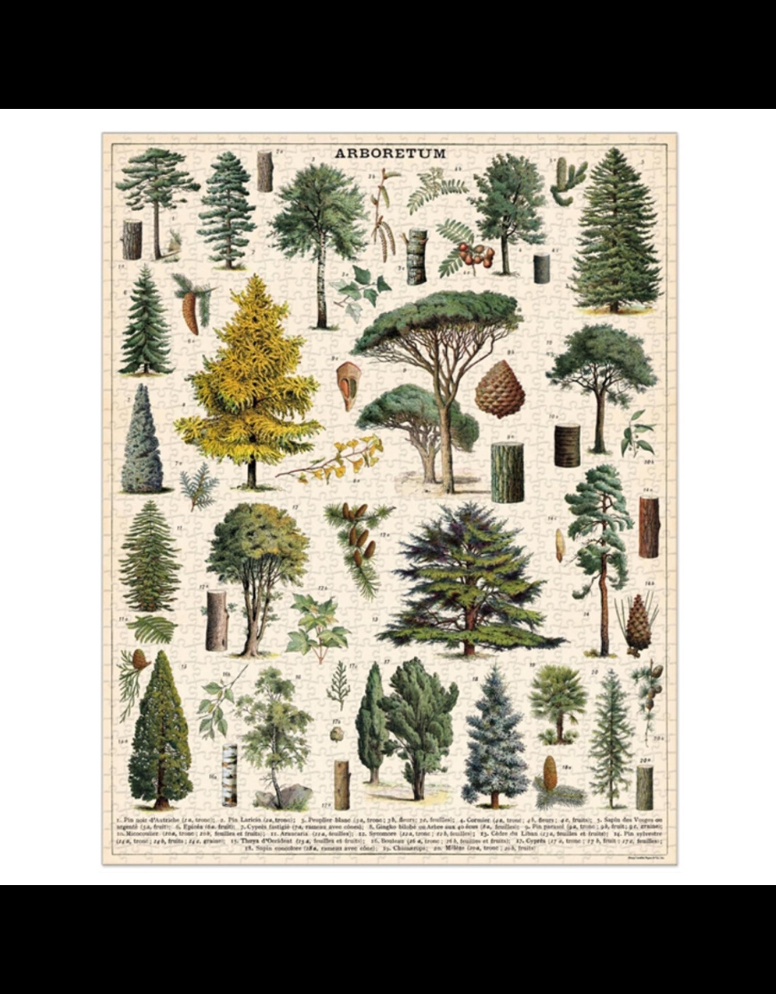 Vintage inspired Puzzle - Arboretum
