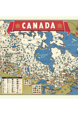 New Poster - Map of Canada