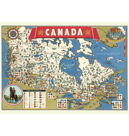 Poster - Map of Canada