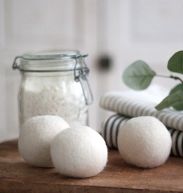 New Felted Wool Dryer Balls