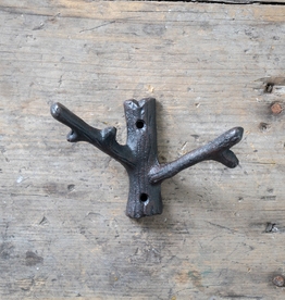 New Cast Iron Branch Hook  – Small