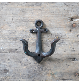 Cast Iron Anchor Hook – Black