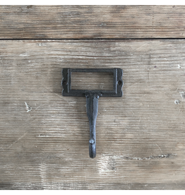 Cast Iron Label Holder Hook