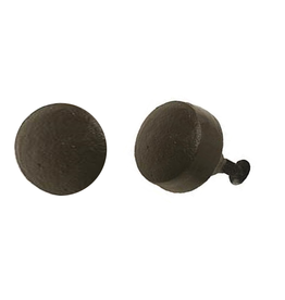 Round Button Knob – Cast Iron