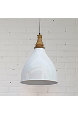 Ella Pendant Lamp - Gloss White