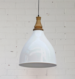 New Ella Pendant Lamp - Gloss White