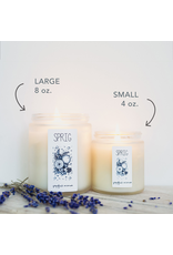 Sprig Coconut Wax Candle - Rosemary Mint