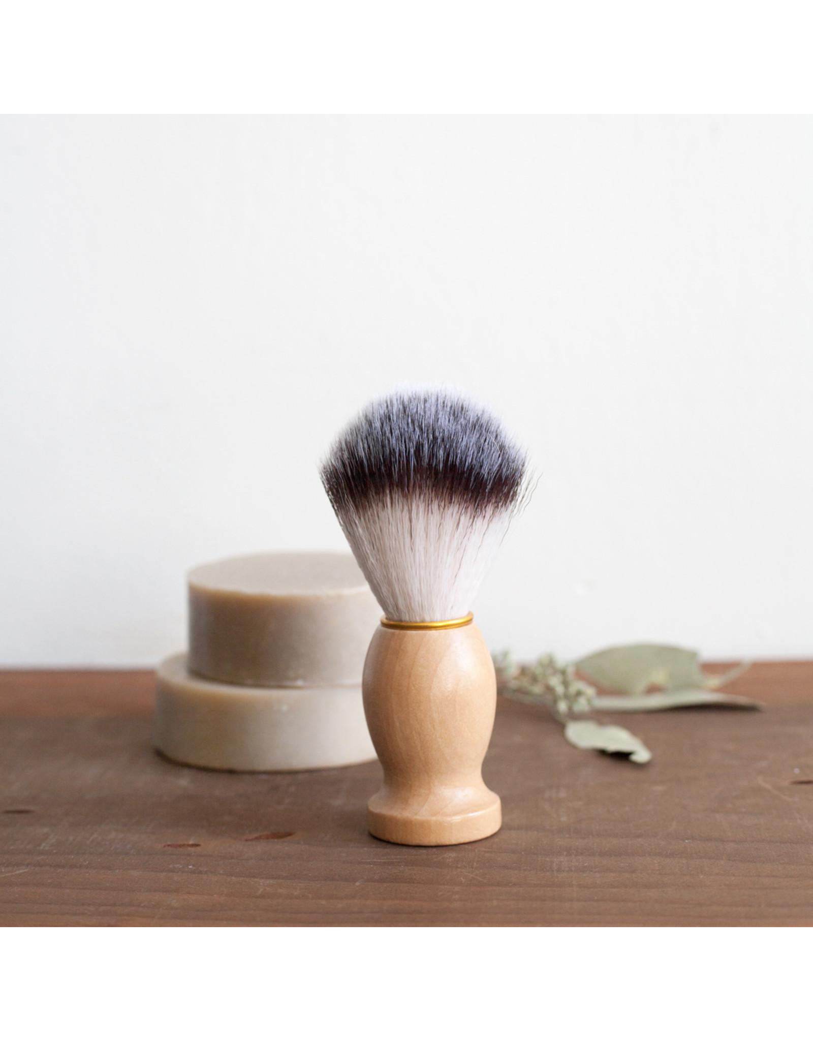 Wood Handled Shave Brush