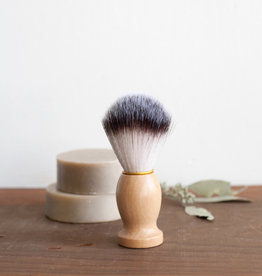 New Wood Handled Shave Brush