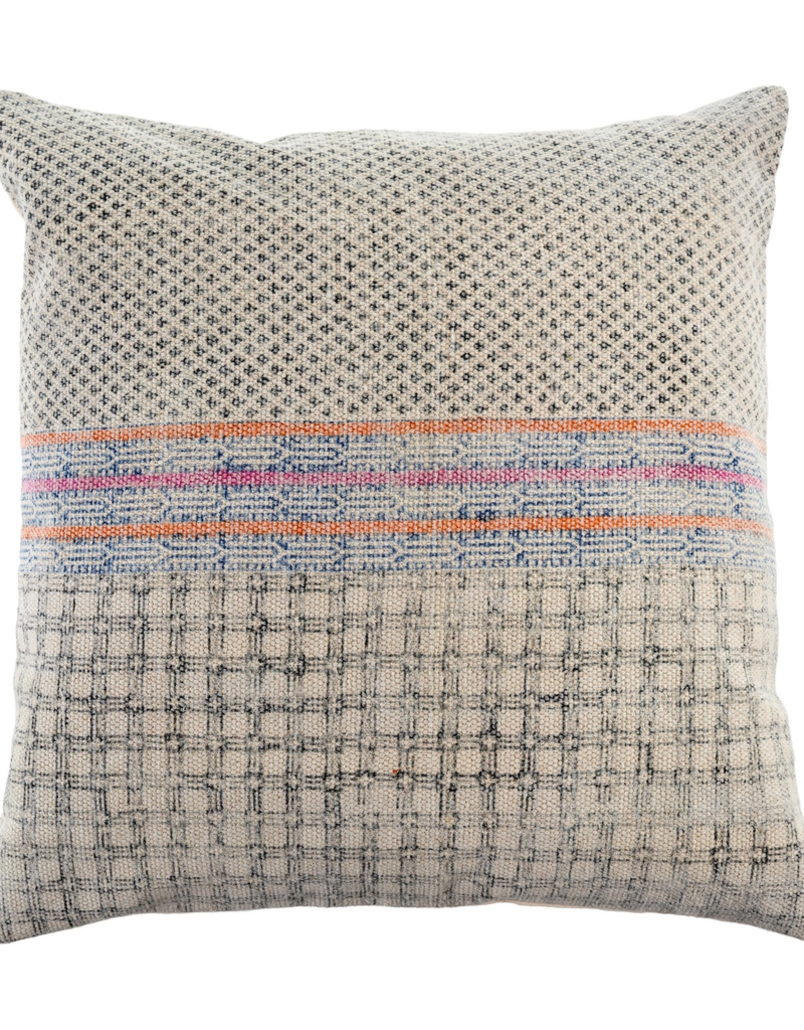 New Lila Stonewashed Pillow