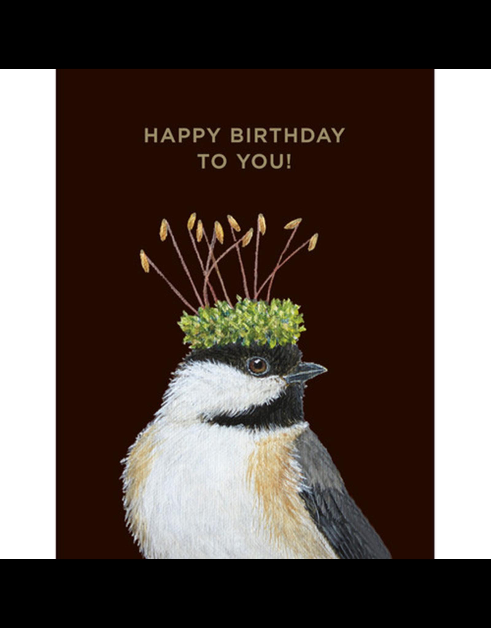 Card - Birthday Chickadee