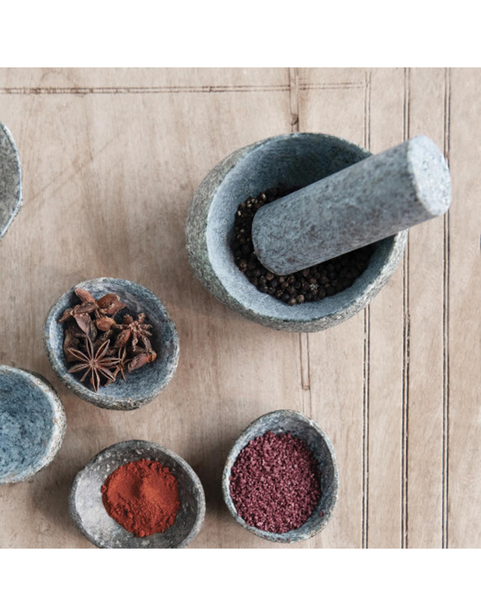Stone Pestle + Mortar