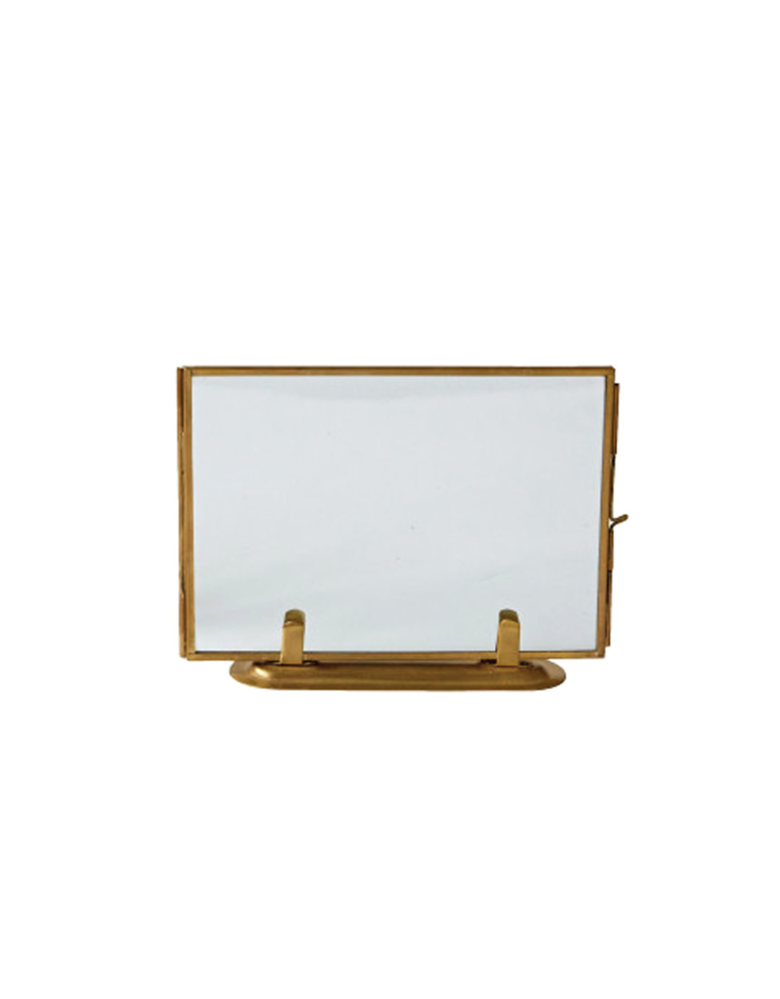 Brass + Glass Picture Frame