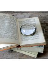 Brass Magnifier Paper Weight