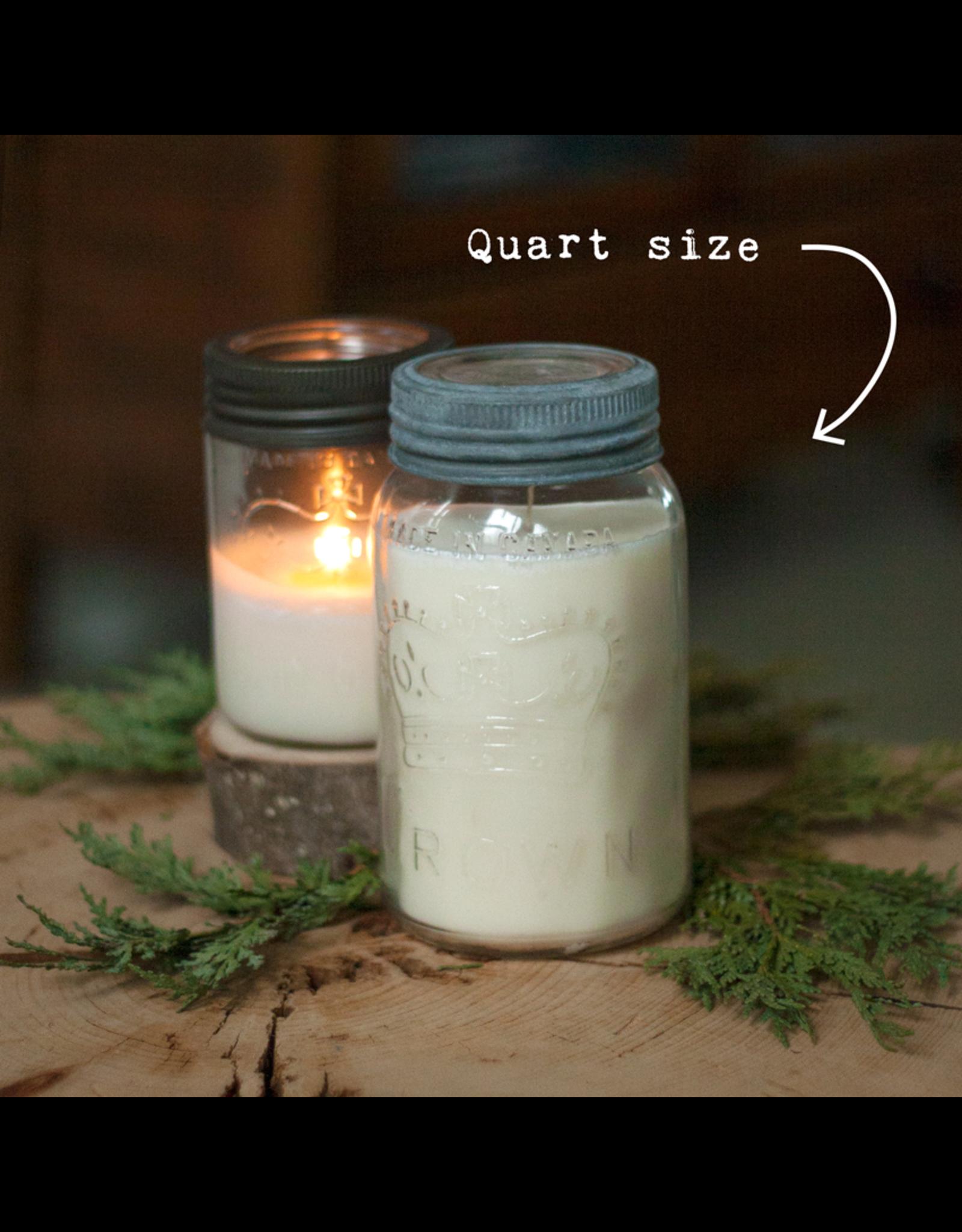 Handmade Mason Jar Soy Candle