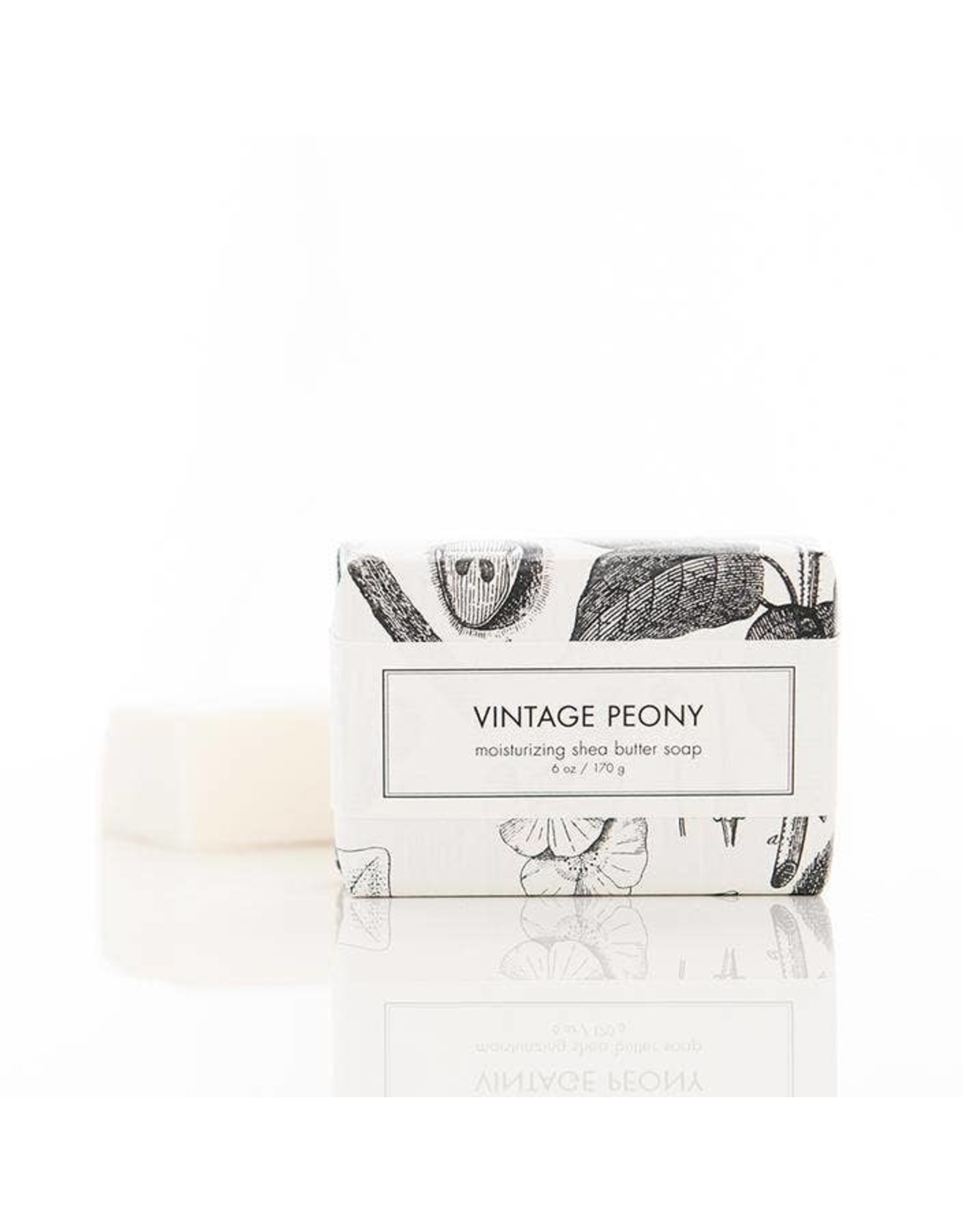 Vintage Peony Bar Soap