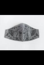 Handmade Linen Mask - Hummingbird