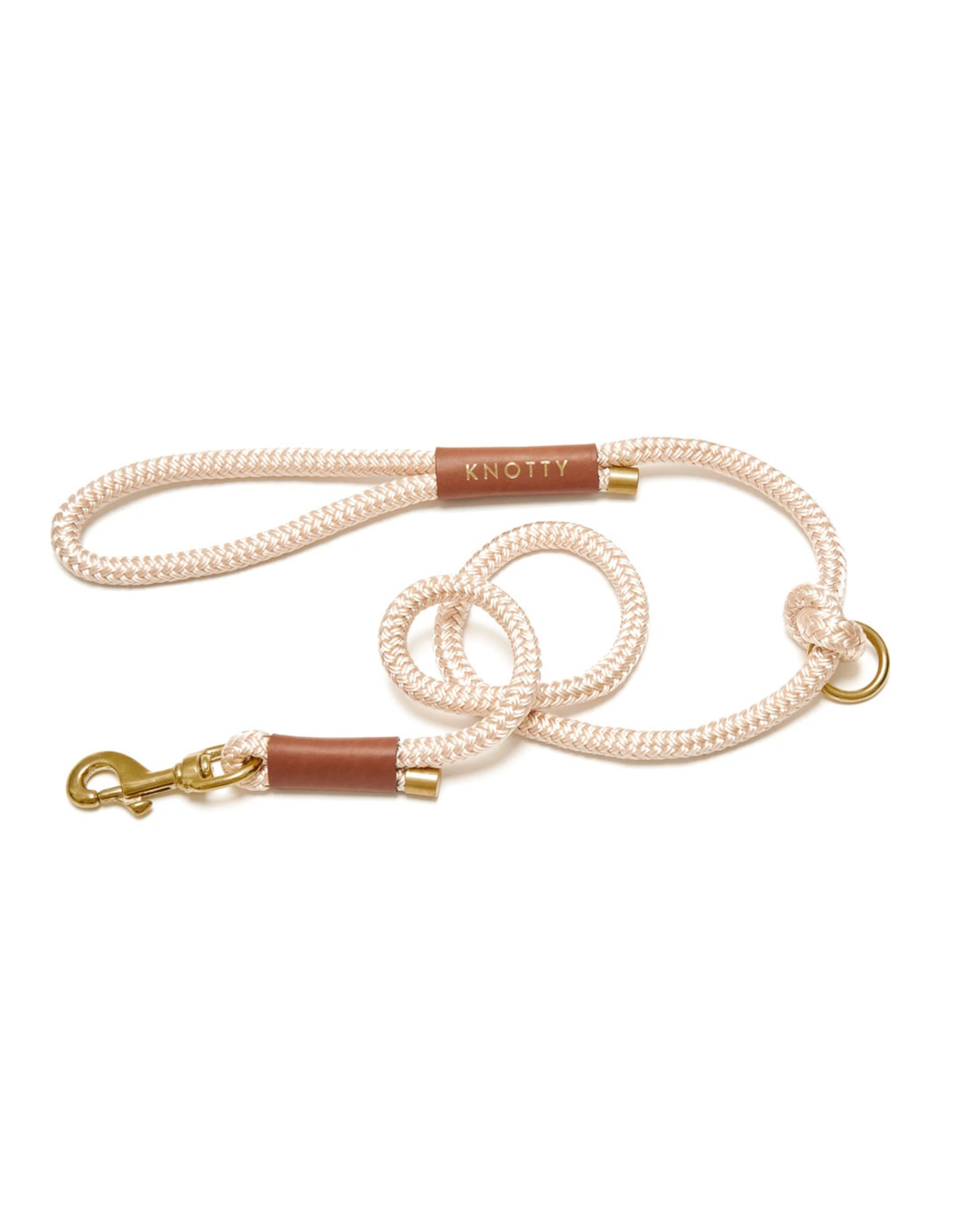 Rope Leash - Champagne