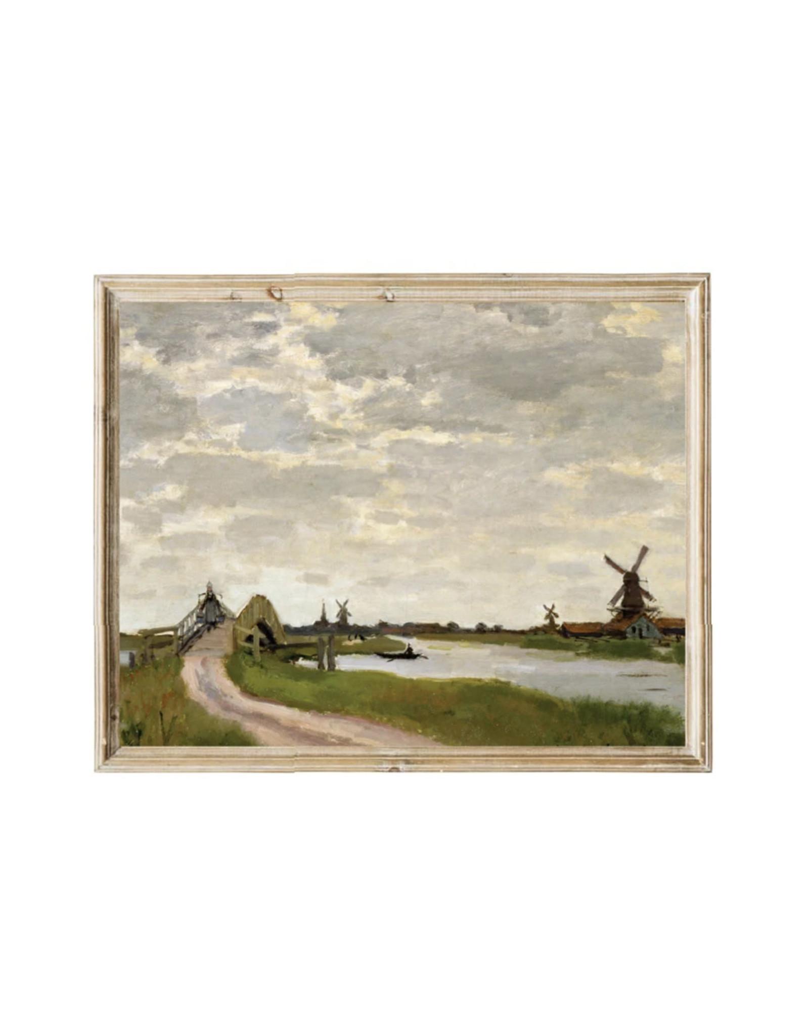 Vintage Print - Farm View