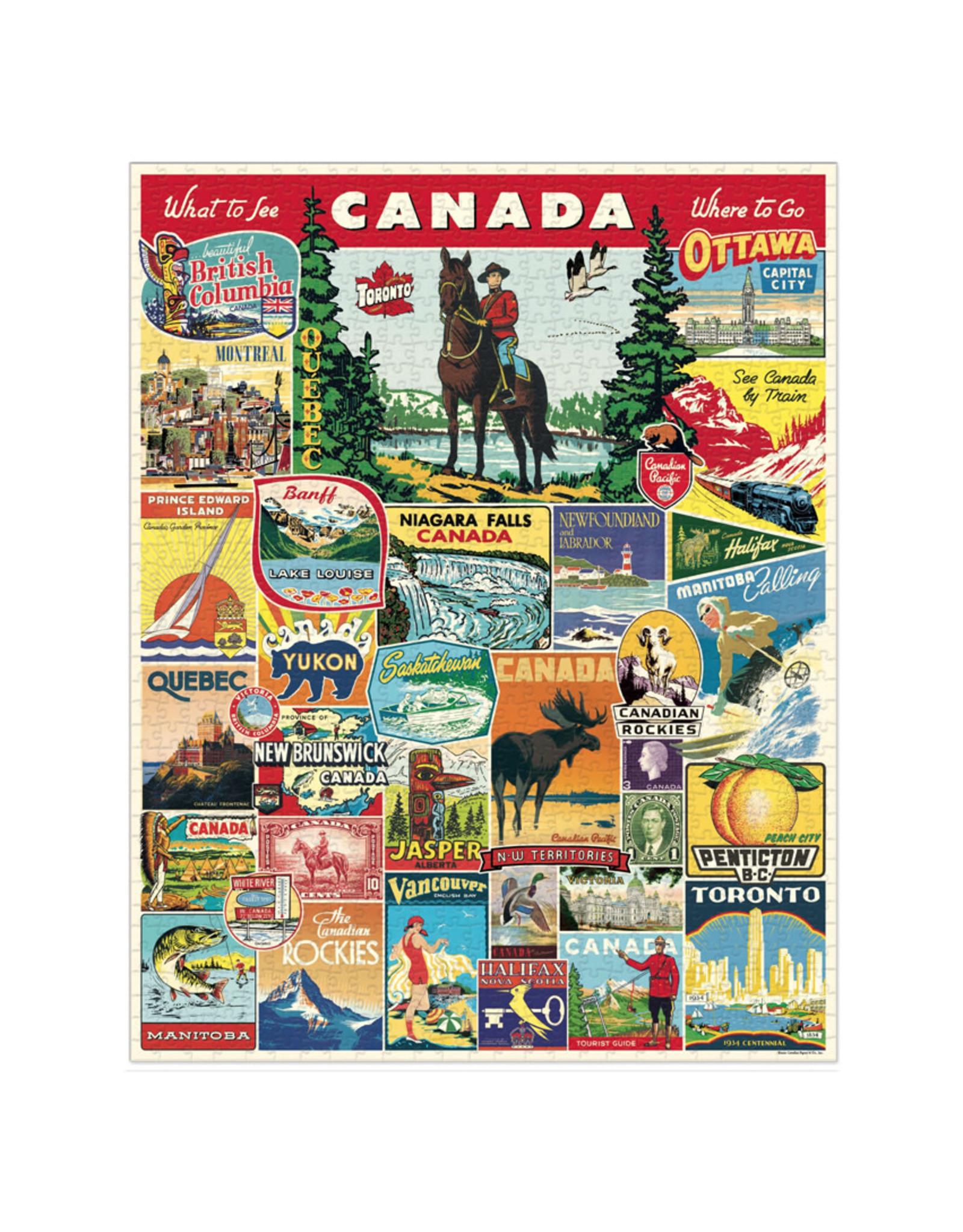 1,000 Piece Puzzle - Canada