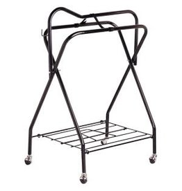 Kane Veterinary Supplies Folding Saddle Stand w/ Castors