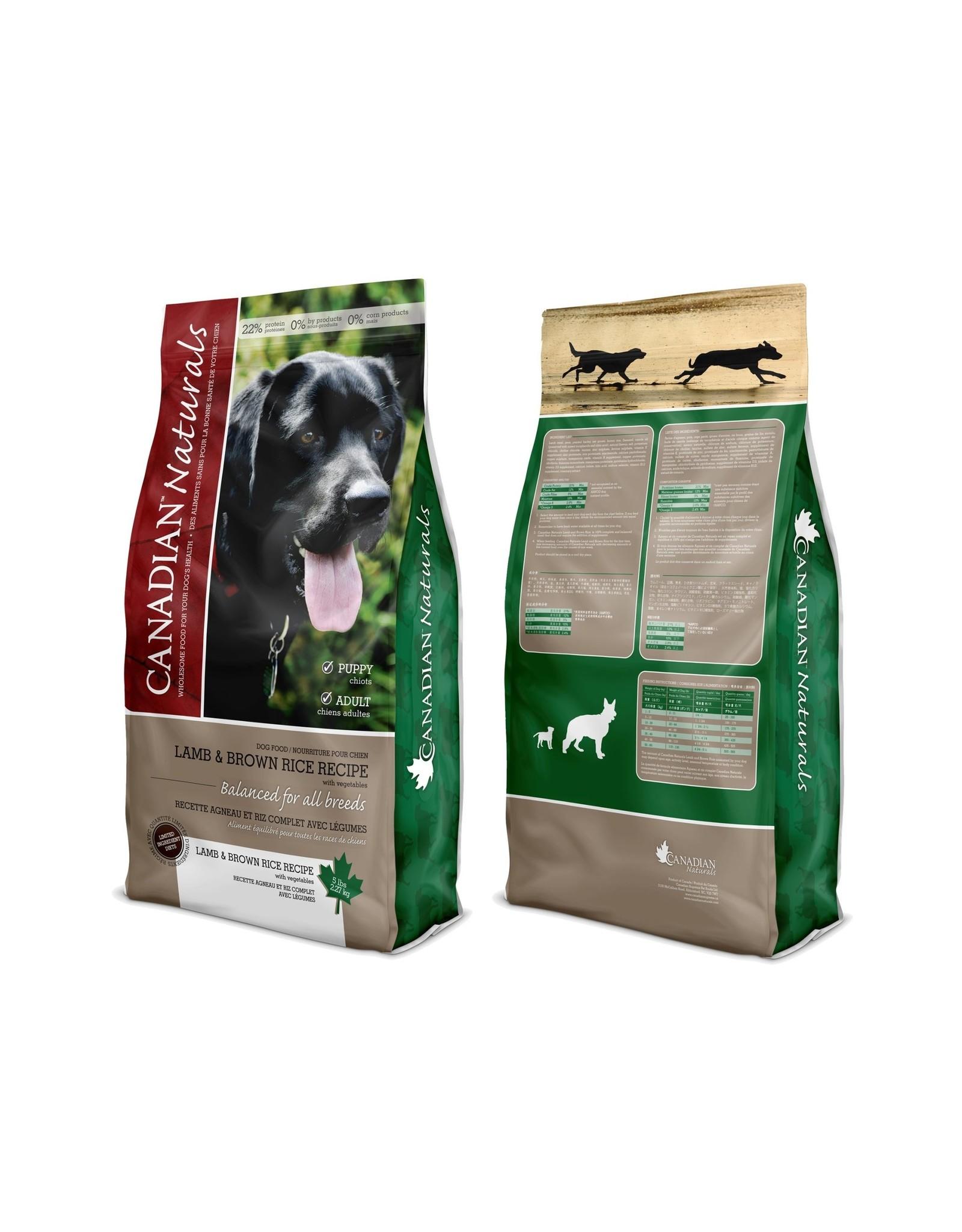 Canadian Naturals Canadian Naturals Lamb & Brown Rice [DOG]
