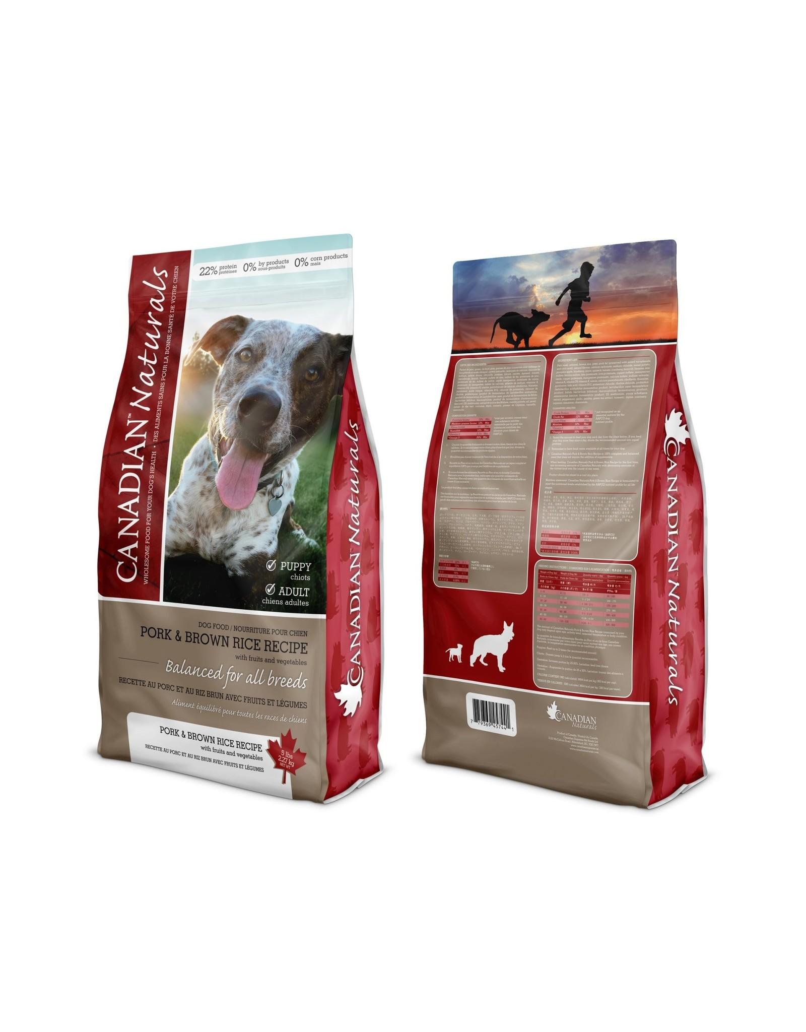 Canadian Naturals Canadian Naturals Pork & Brown Rice [DOG]