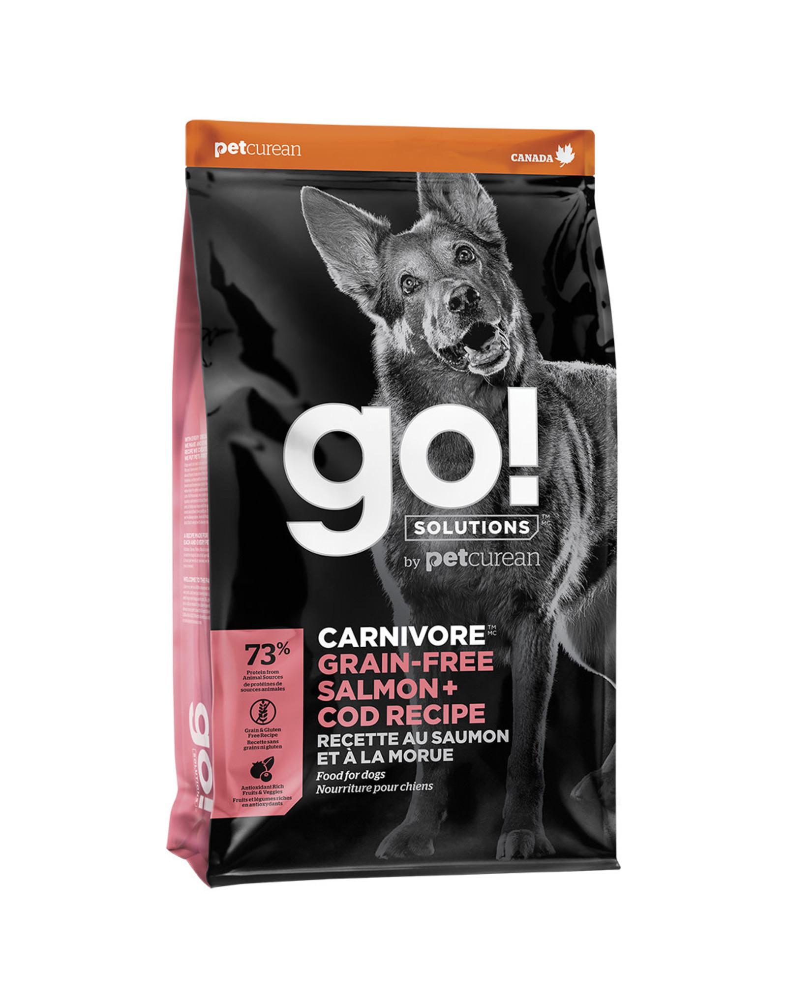 Petcurean GO! Carnivore Salmon & Cod [DOG]
