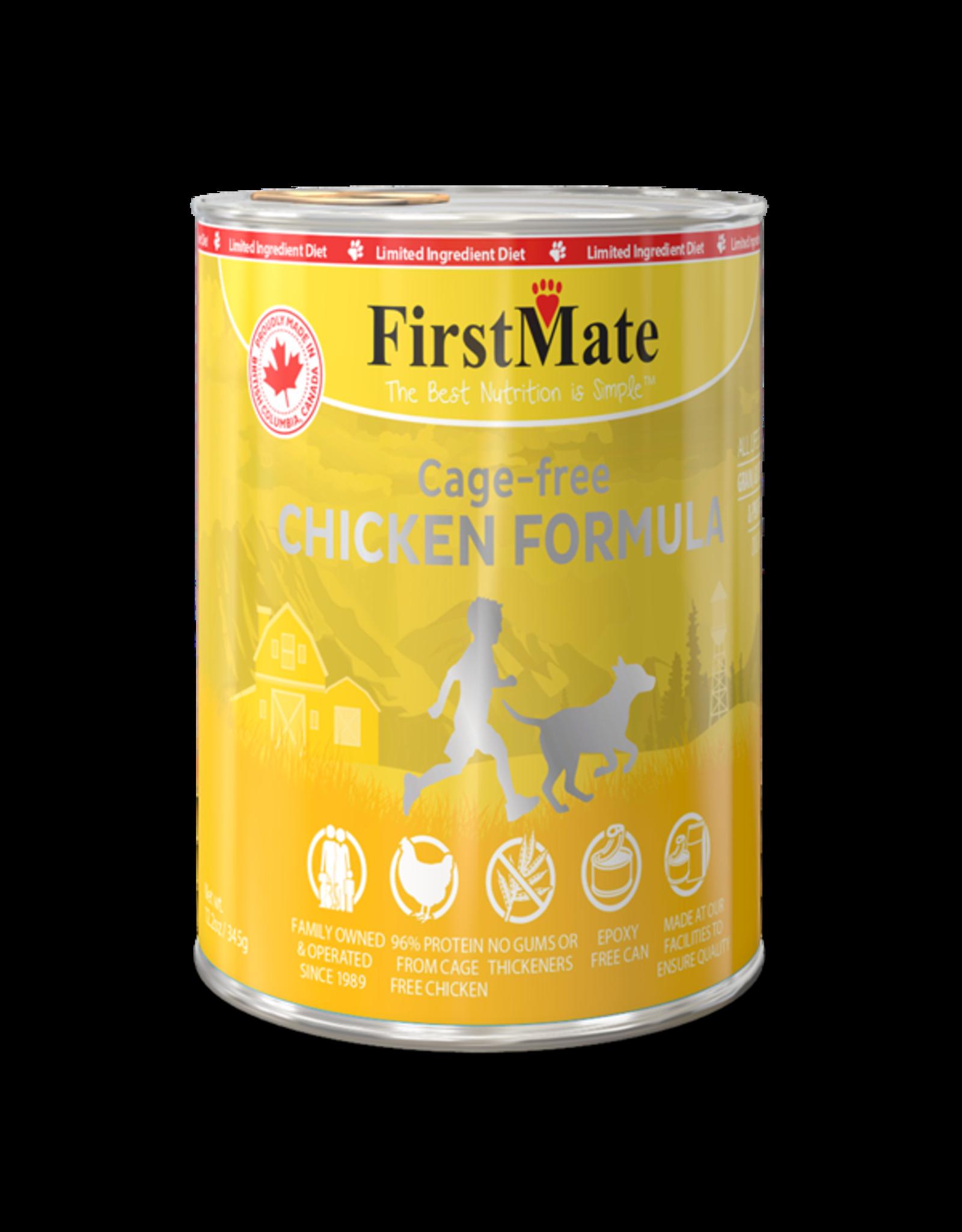 FirstMate FirstMate LID GF Chicken [DOG] 12.2OZ