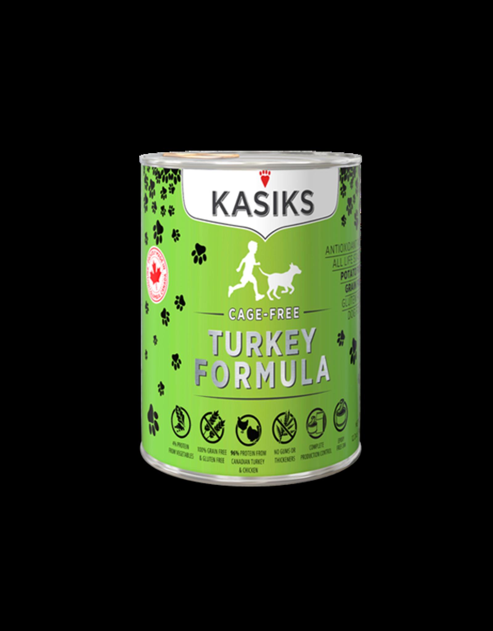 Kasiks Kasiks GF Cage Free Turkey [DOG] 12.2OZ