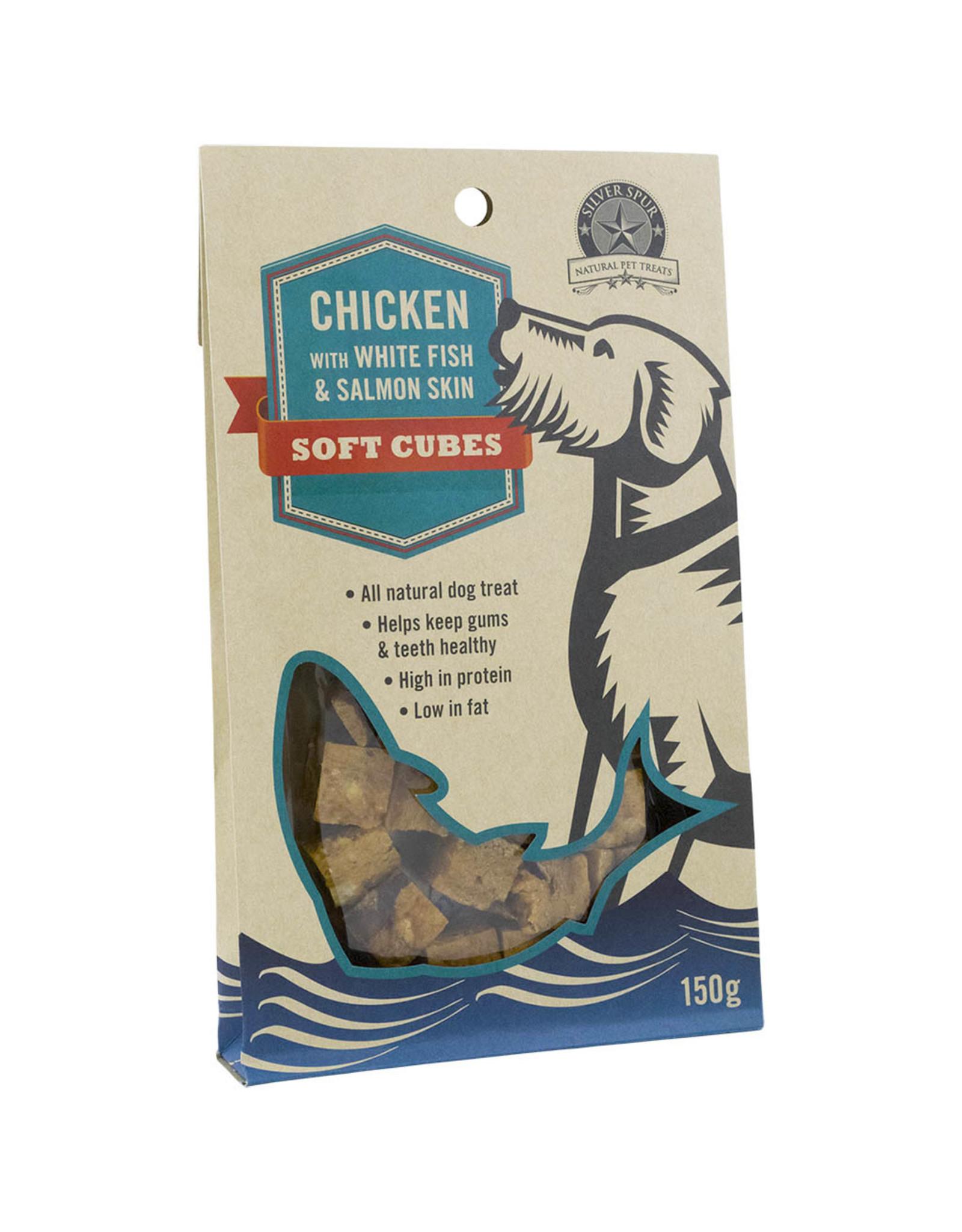 Silver Spur Chicken Cubes 150GM