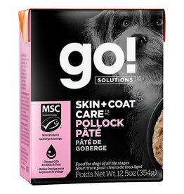 Petcurean GO! Skin & Coat Pollock Pate [DOG] 12.5OZ