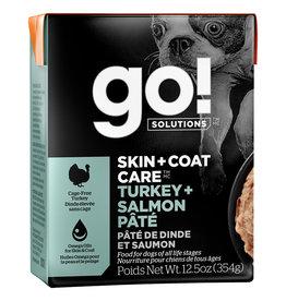 Petcurean GO! Skin & Coat Turkey & Salmon Pate [DOG] 12.5OZ
