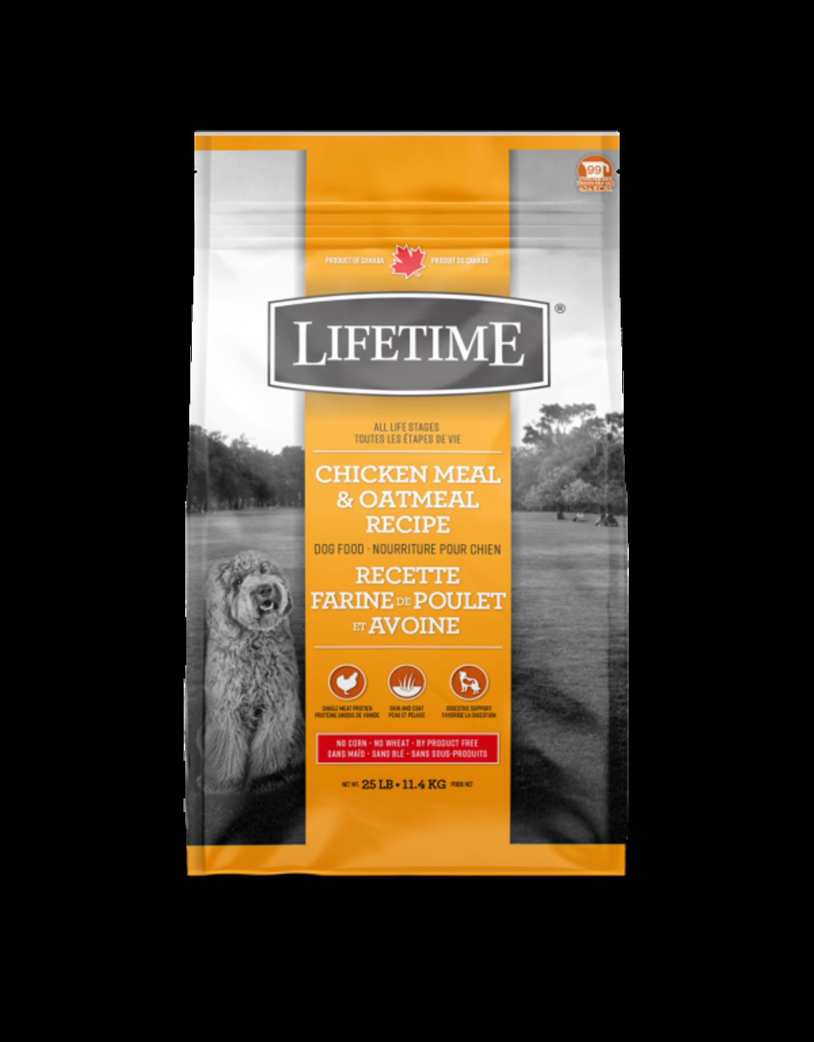 Lifetime Lifetime Chicken & Oatmeal [DOG] 11.4KG
