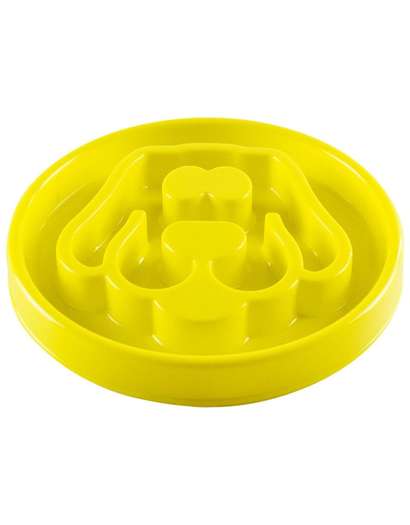 Be One Breed Slow Feeder Bowl - Yellow