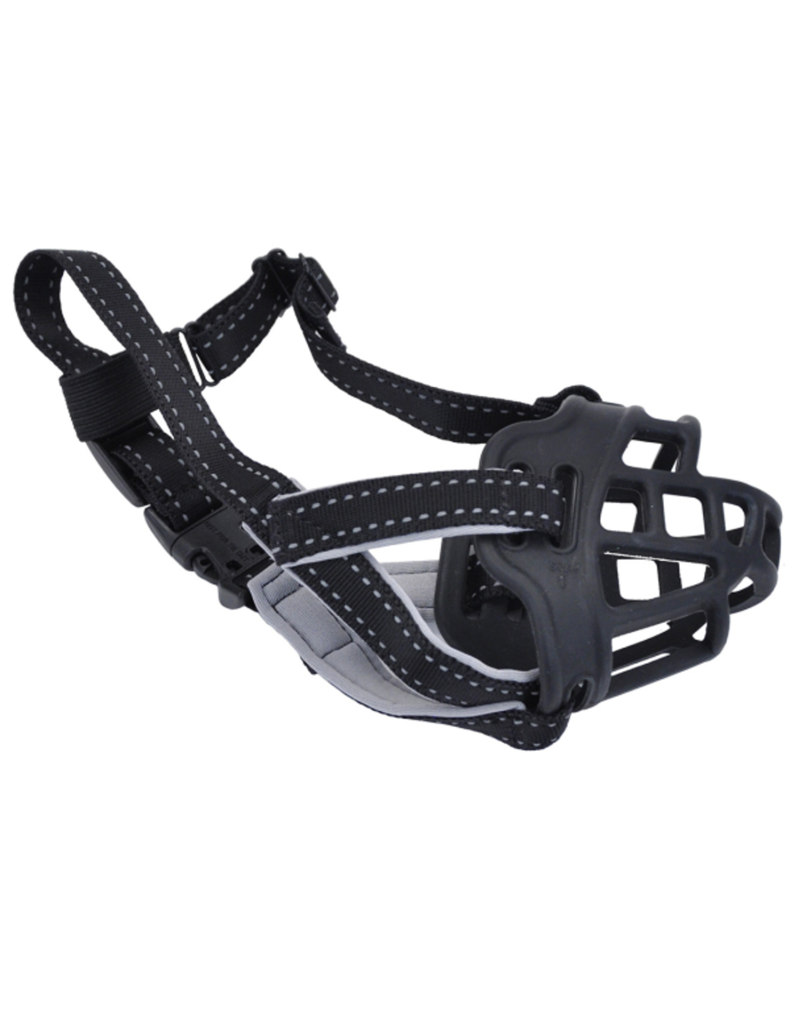 Coastal Pet Products Soft Basket Muzzle - Black
