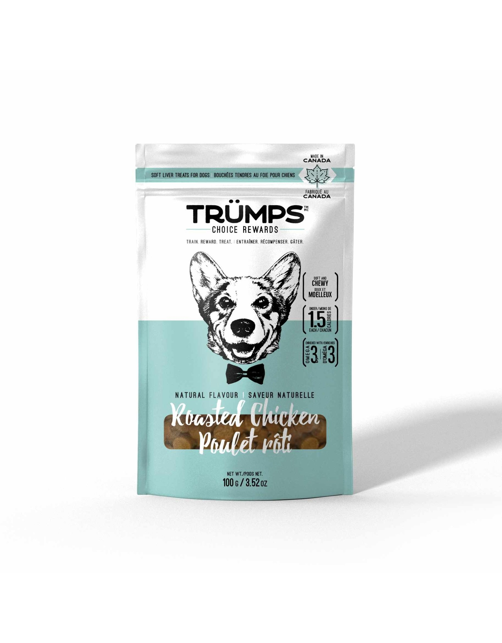 Spark Pet Trumps Roasted Chicken Treats [DOG] 100GM