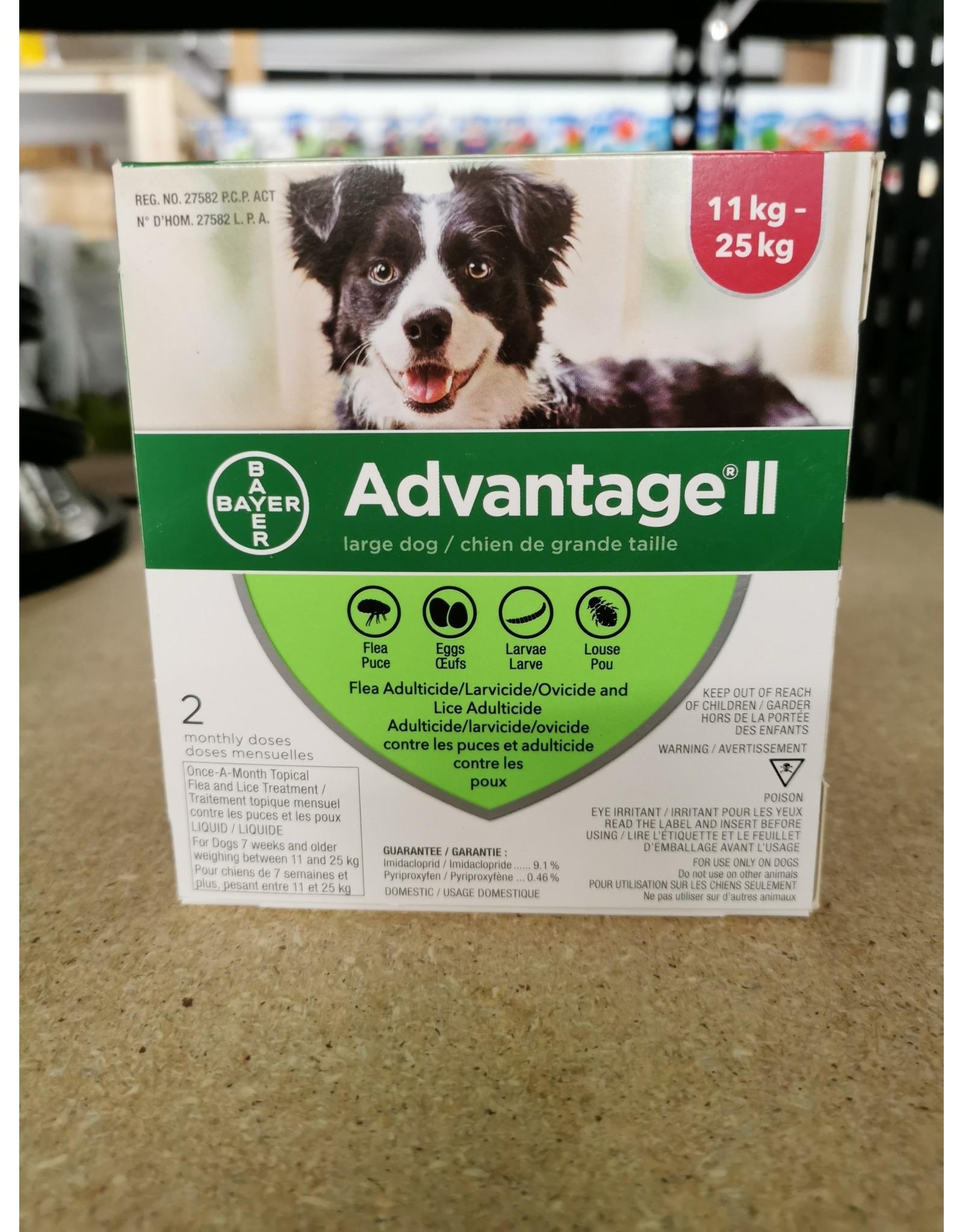 Advantage Advantage II  - 2 Dose [DOG]