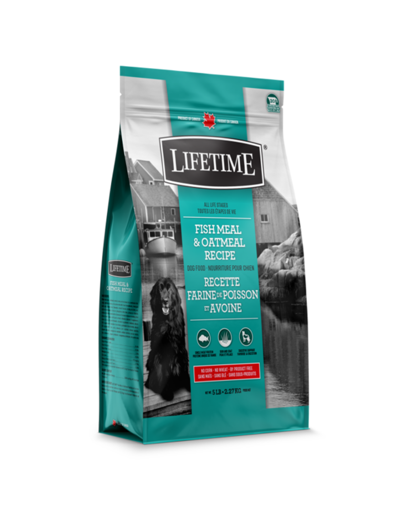 Lifetime Lifetime Fish & Oatmeal [DOG]
