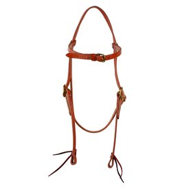 Western Rawhide Western Rawhide Signature X-Large Headstall - Harness Leather