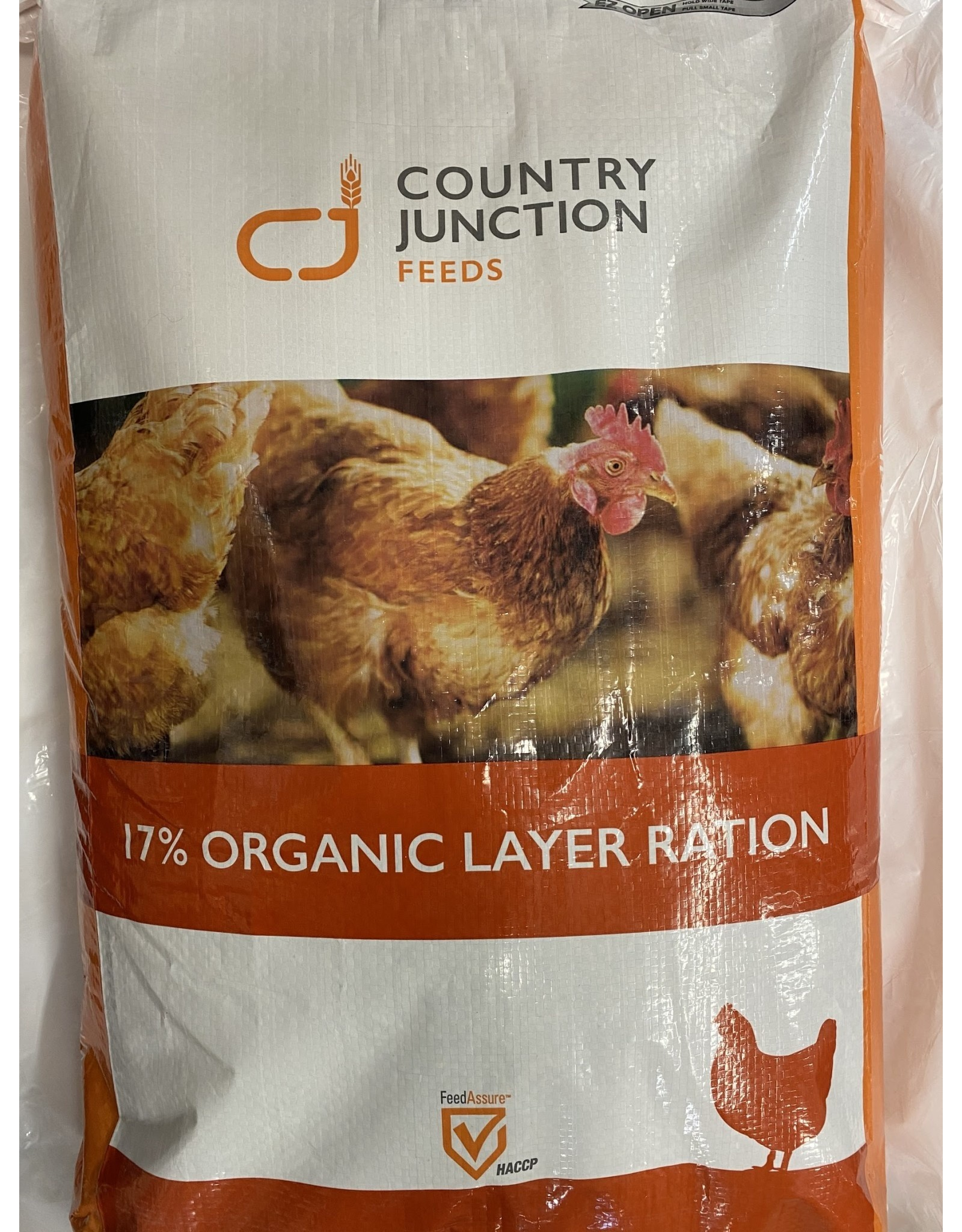 Country Junction Feeds Country Junction 17% Organic Layer Pellet 20KG