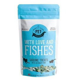 Granville Island With Love & Fishes Sardine Treats 90GM