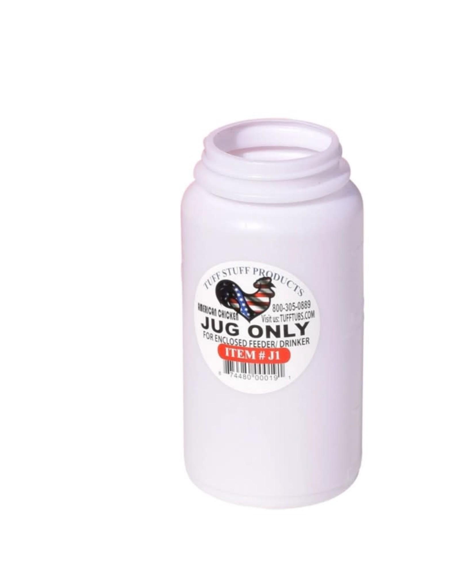 Little Giant Plastic Poultry Jar 1 QT