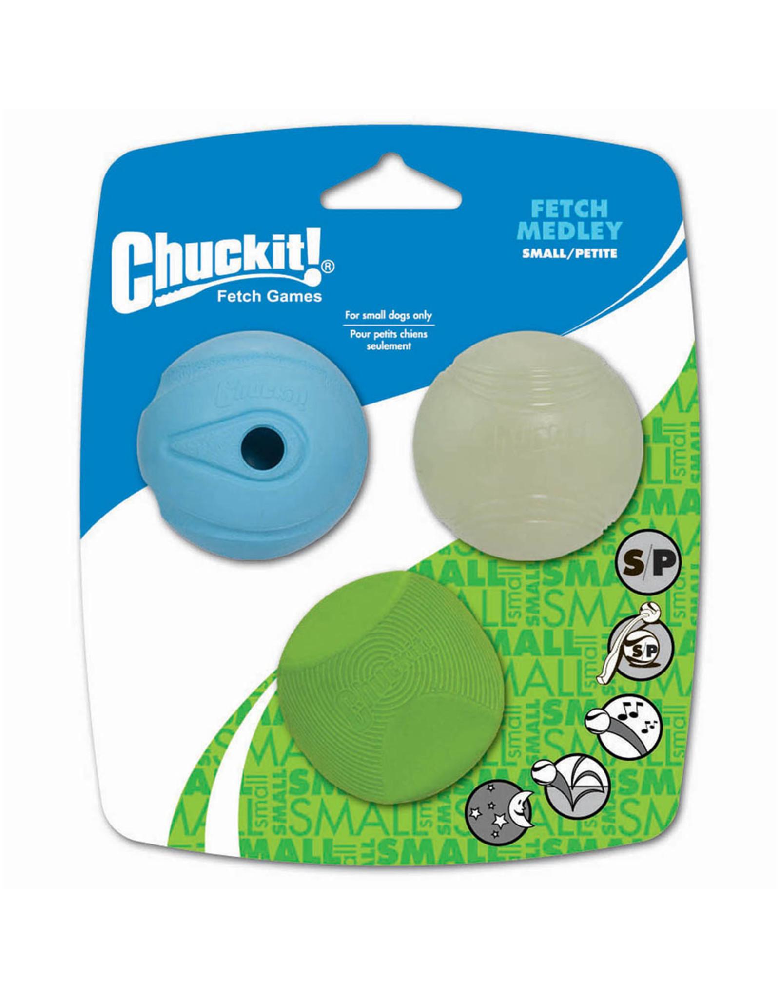 Chuckit! Chuckit! Fetch Medley 3PK